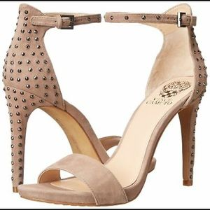 Vince Camuto Fora Tauplicious Studded Heels 7.5